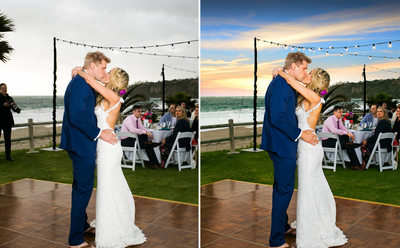 Steve Ali Beach Wedding Sunset