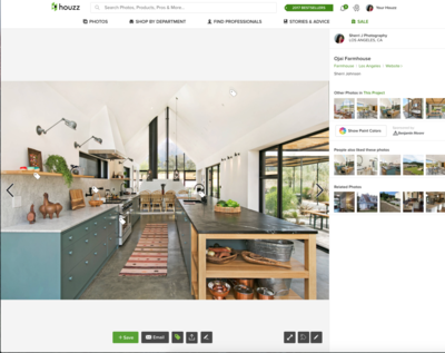 Houzz Ojai Farmhouse