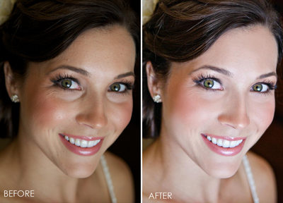 beauty retouch skin brighten