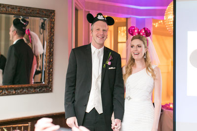 Disney Bride and Groom Reception