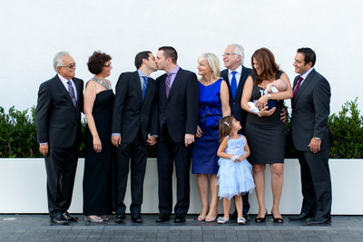 gay wedding family formal Andaz