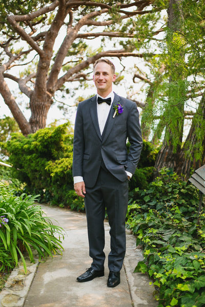 groom at Wayfarers Chapel