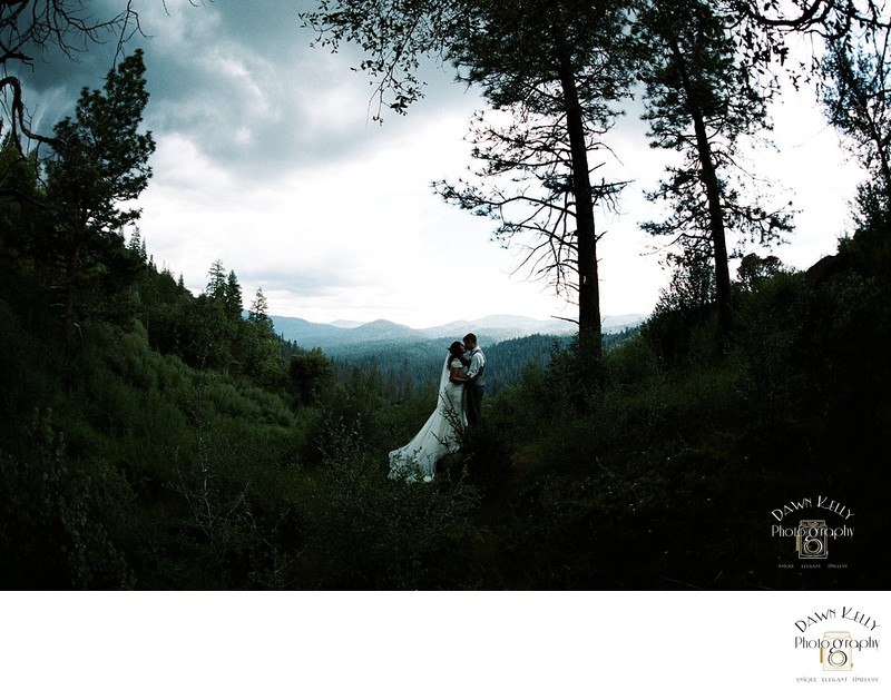 Wawona Yosemite wedding