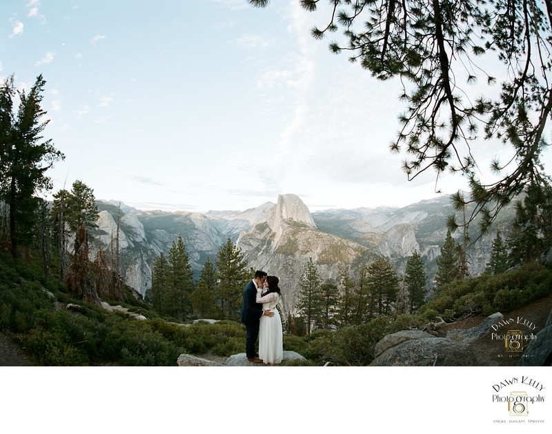 Yosemite elopement guide half dome