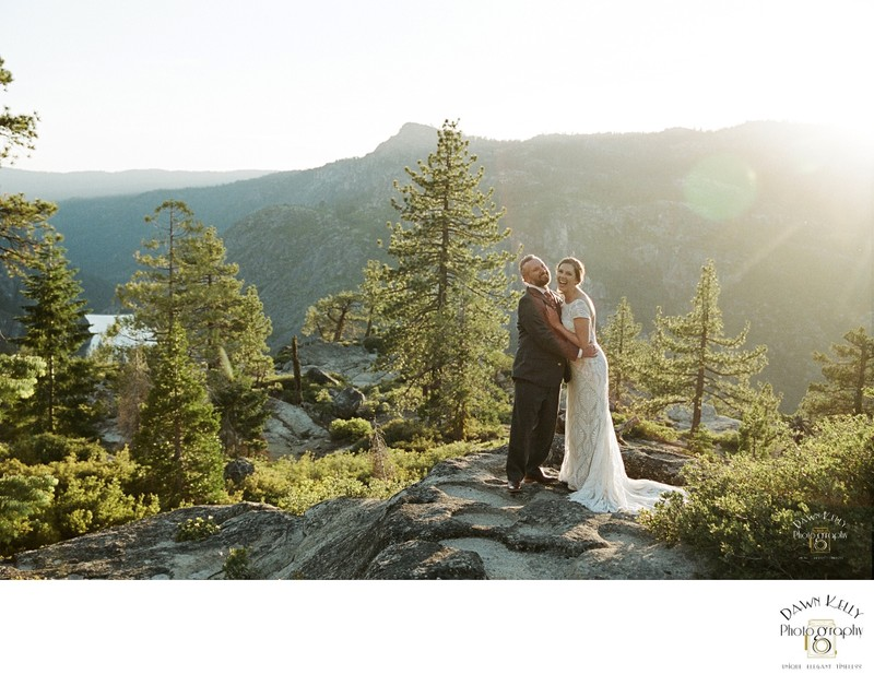 Northern California Donnell Vista Elopement