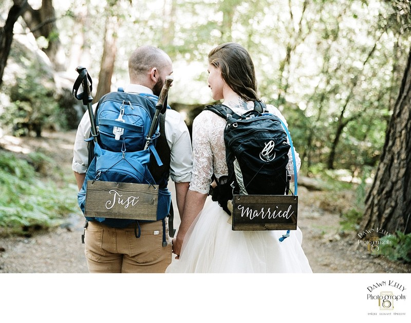 Backpacker elopement