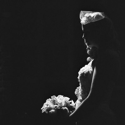 Bridal fine art portrait