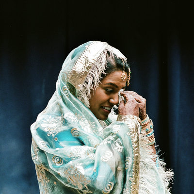Indian bride in wedding ceremony