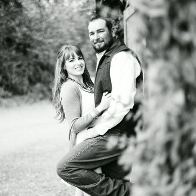 Modesto engagement photo