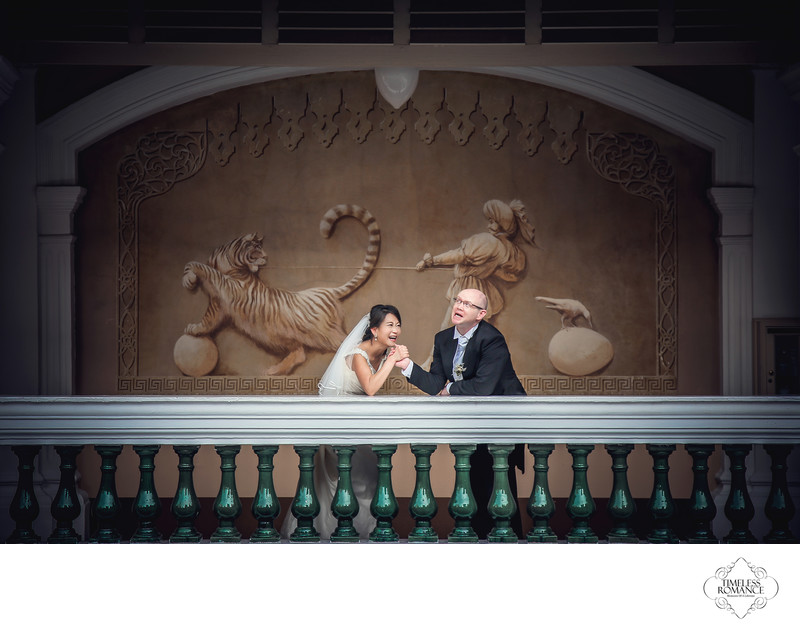 Matt & Suyin Wedding At Raffles Hotel