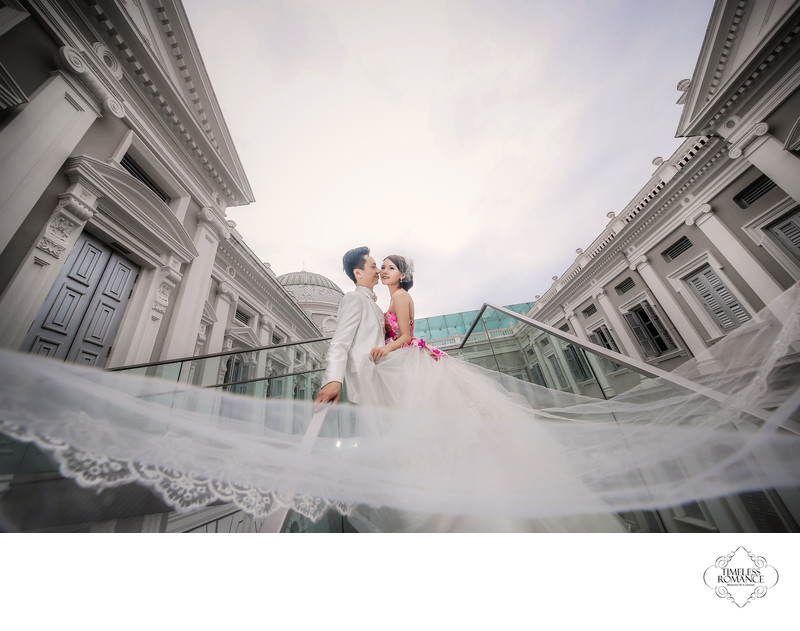 Hosea & Nunu PreWedding Image @ National Museum