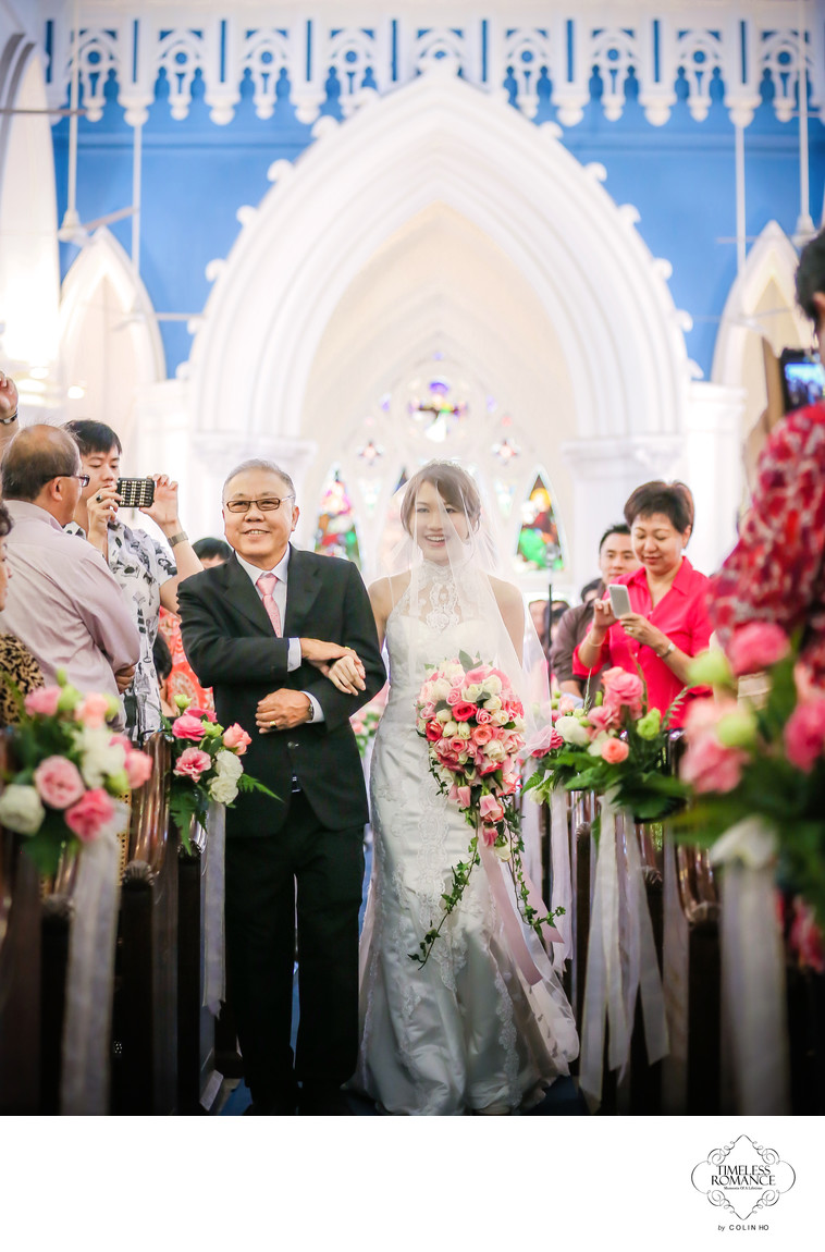 Shaun & Candy Wedding @ St Andrew Cathedral