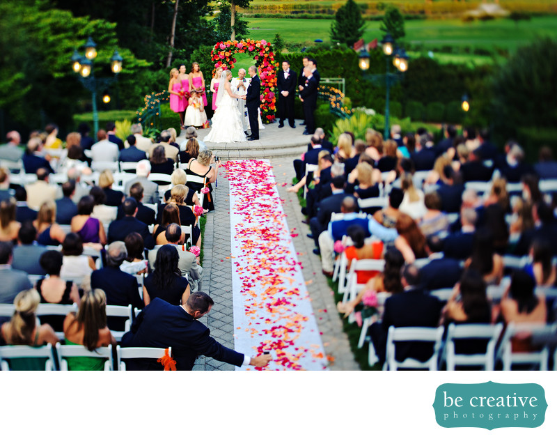 park savoy nj wedding photo outdoor ceremony roses