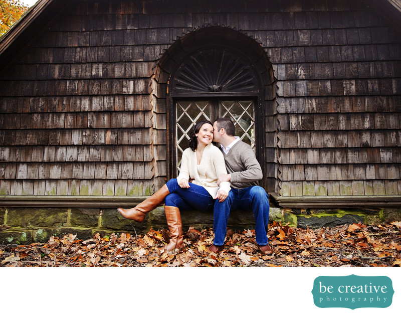 nj engagement photos fall wedding photographer