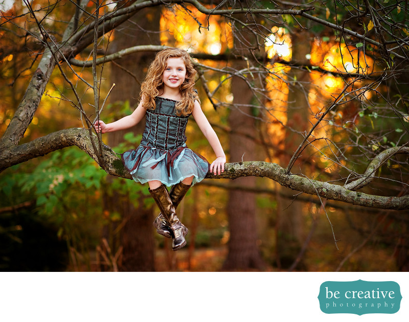 kid fall portrait nj photos warm foliage tree nature