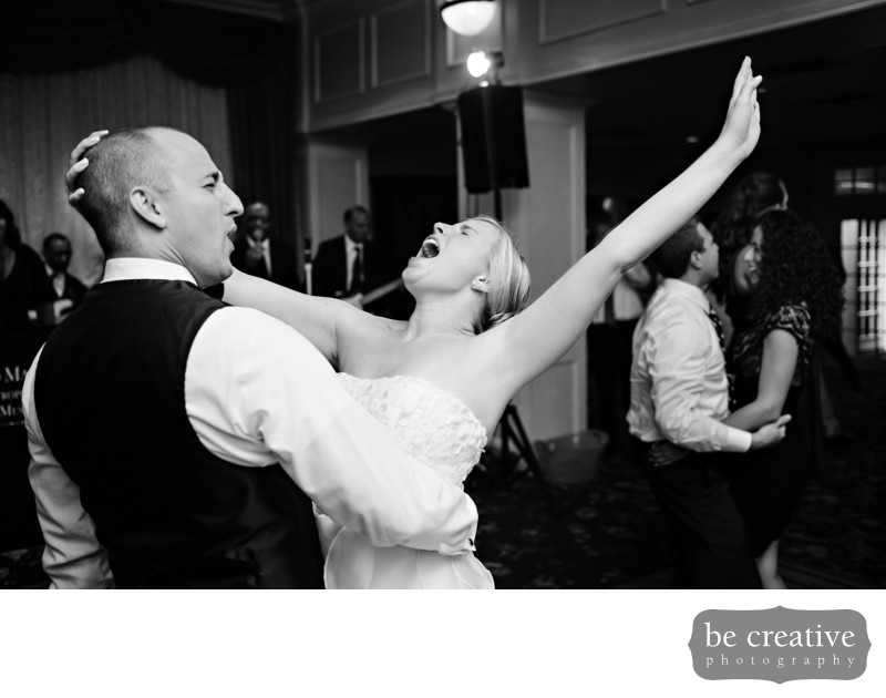 The Park Savoy New Jersey Wedding Photos Dance Bridegroom