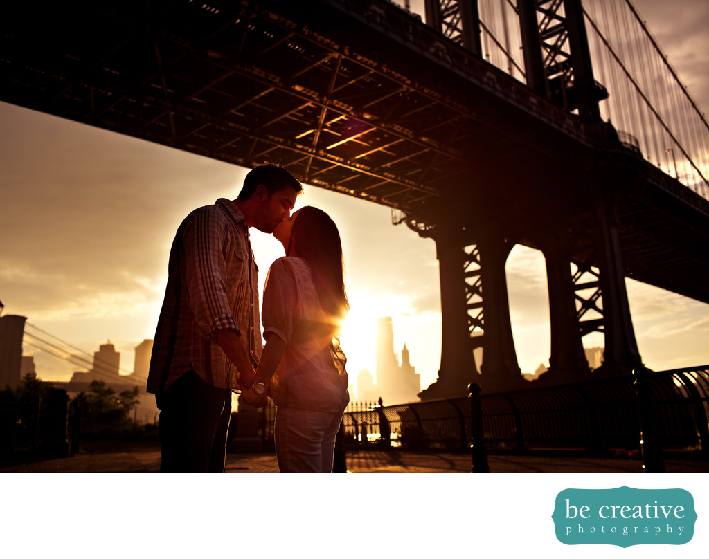 brooklyn bridge engagement photos wedding photographer