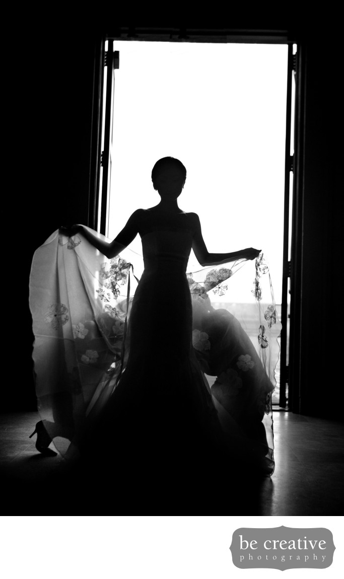 okeka castle new york wedding photos silhouette