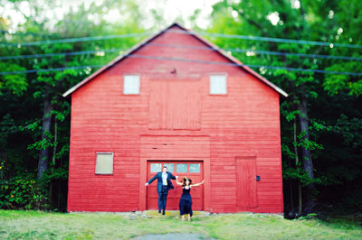 barn engagement photos nj ny wedding photographer