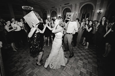 the yale club nyc wedding photo dance floor