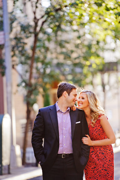 west village engagement photos nyc wedding photographer