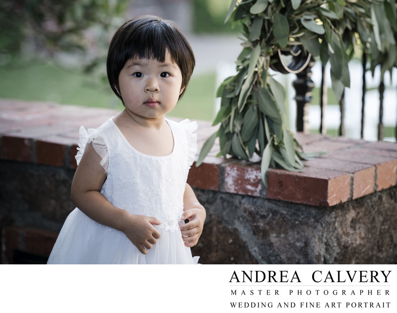 Best Dallas Wedding Photography Flower Girl