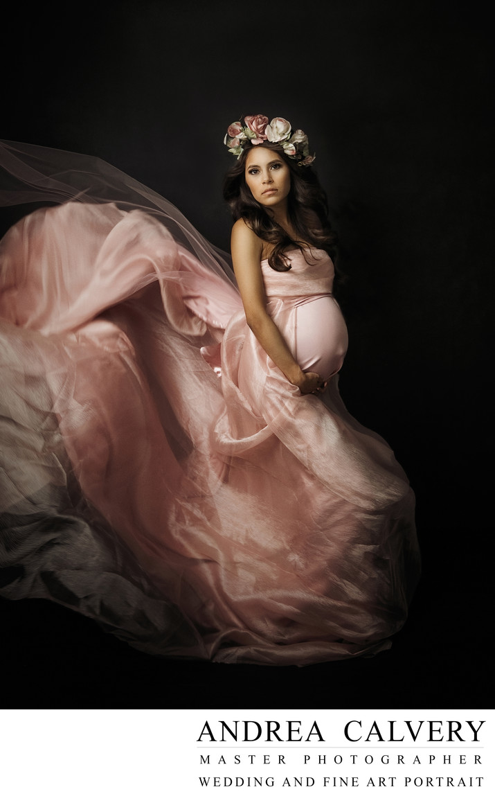 Fine Art Maternity Dallas Ovilla Texas Photographer