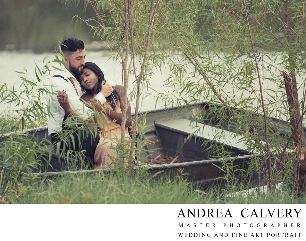 Engagement Portraits Boats Water DFW Texas
