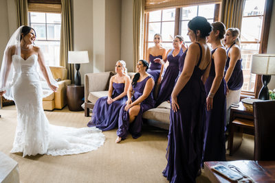 Best Dallas Wedding Photography Bridesmaids and Bride