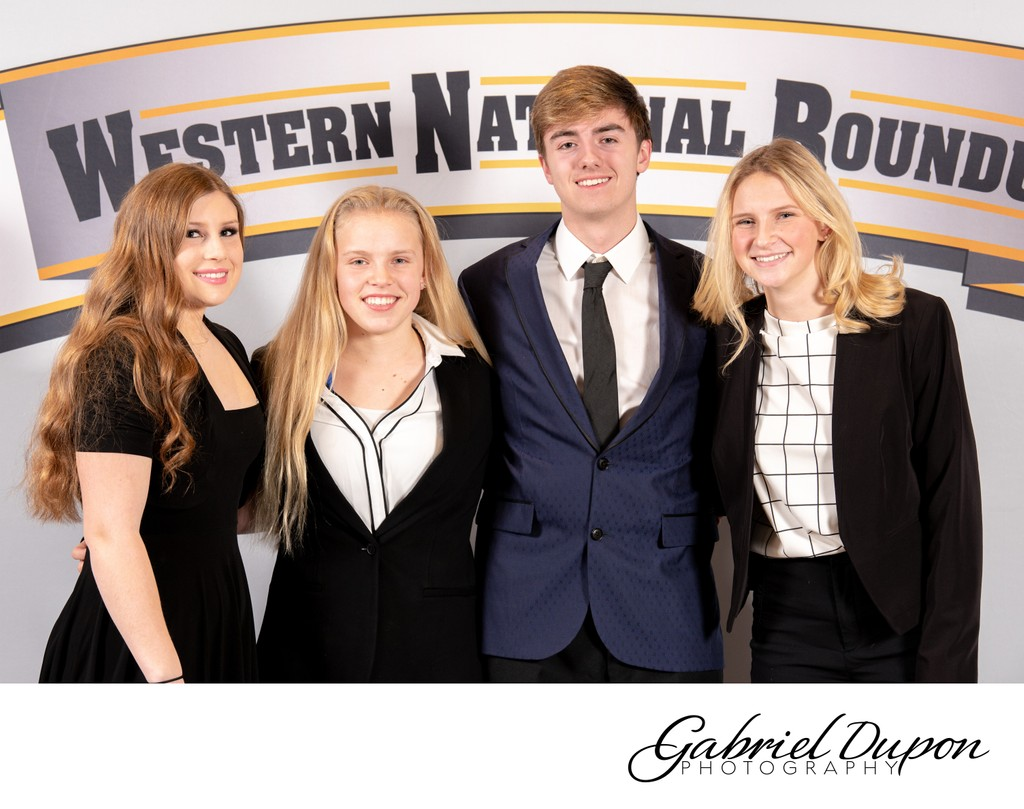 Western National Roundup Group Portrait