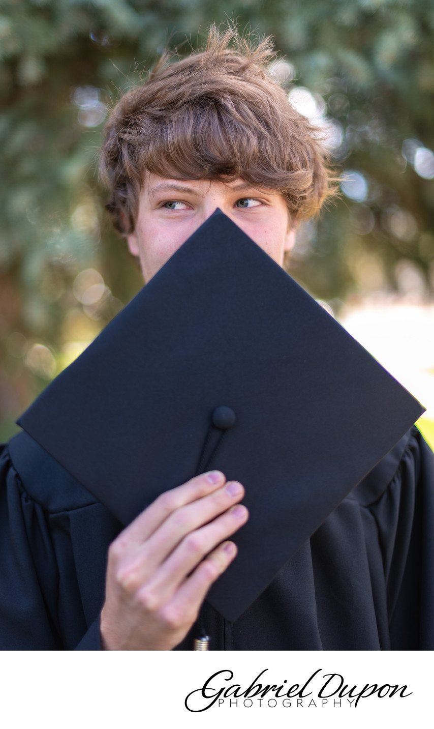 Just Graduated Portrait