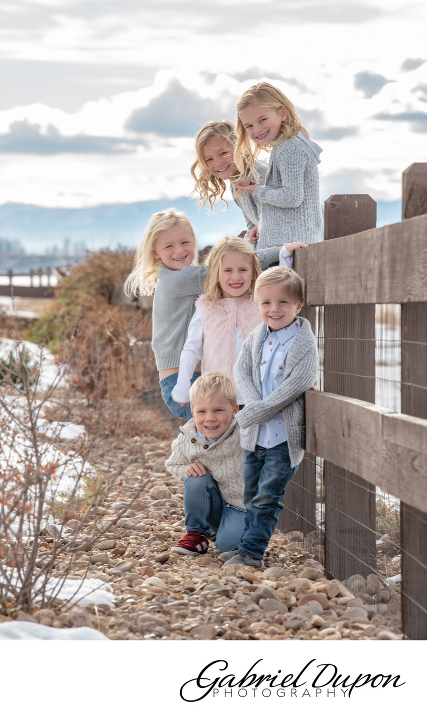 Happy Kids Group Portrait