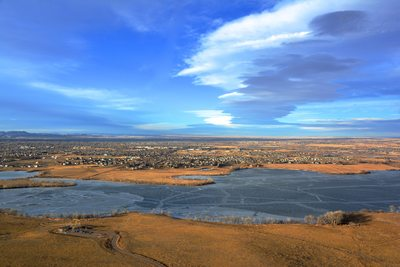 Above Fort Collins