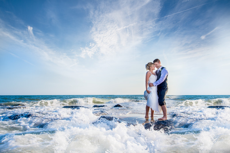 Westhampton Beach Wedding Photographer: Ocean Bleu
