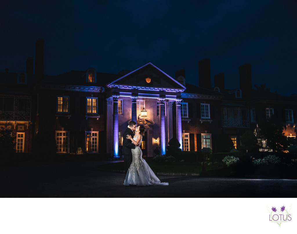The Best Mansion at Glen Cove Wedding Photographer