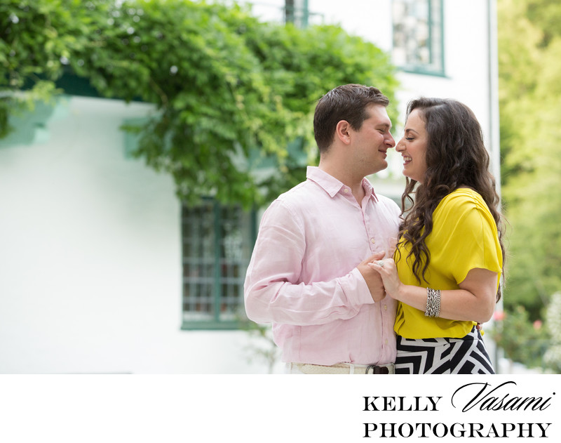 Poolside Engagement Session | Westchester NY