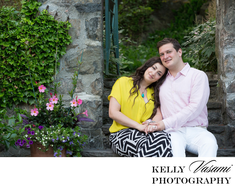 Engagement session photos westchester