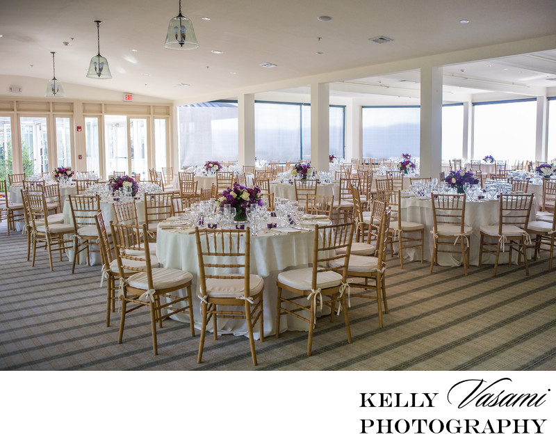 Spring Wedding Reception | Ballroom at The Garrison