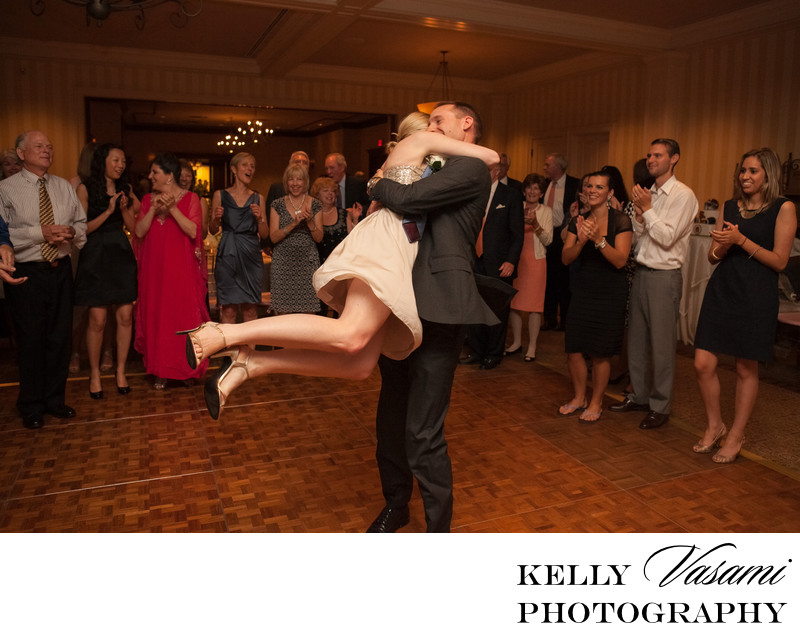 wedding reception photos whippoorwill country club