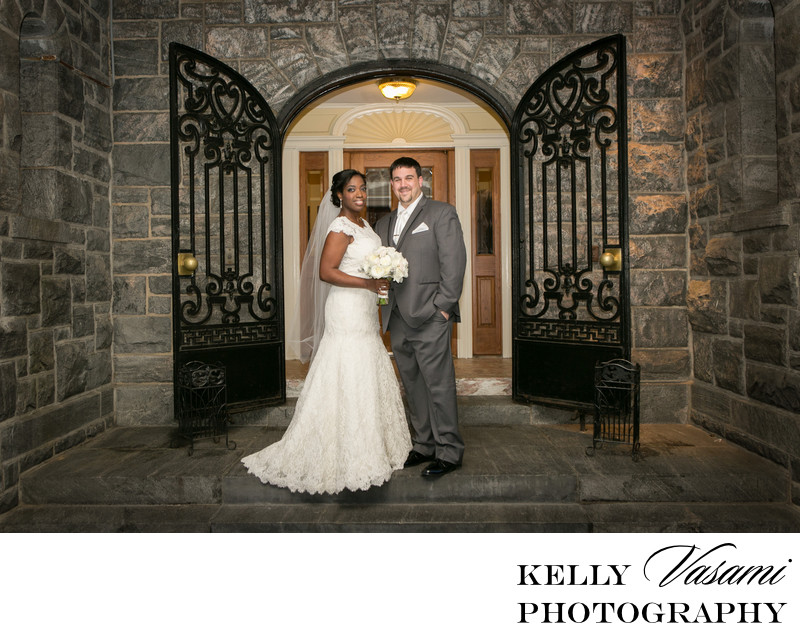 Tarrytown House Winter Wedding Photos | Biddle Mansion
