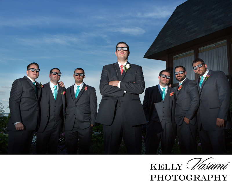 groom groomsmen photos mamaroneck beach yacht club