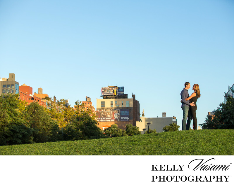 manhattan new york engagement landscape NYC