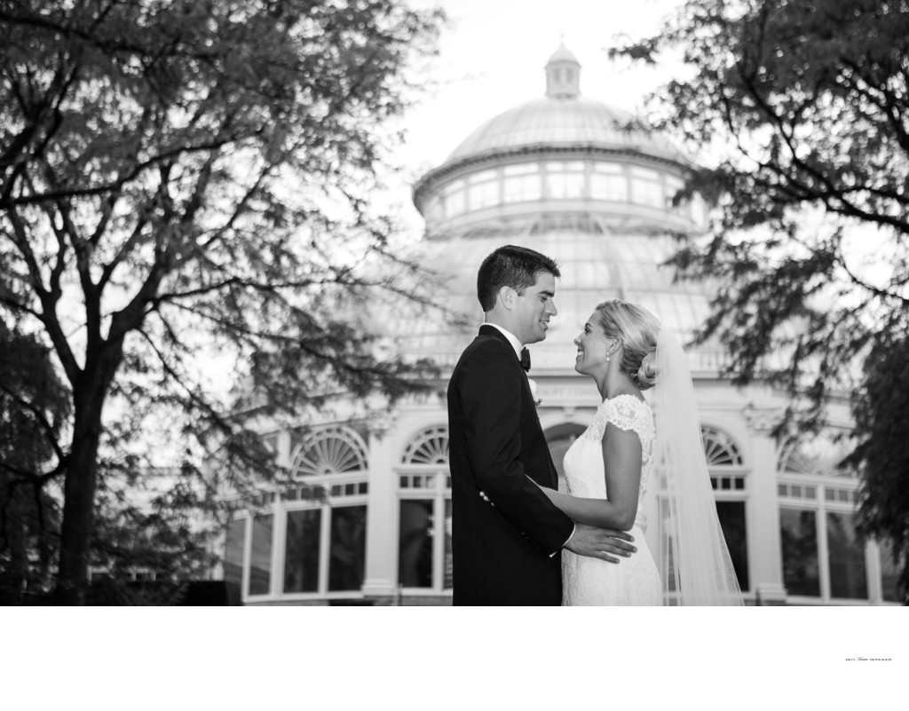 New York Botanical Garden Wedding Conservatory