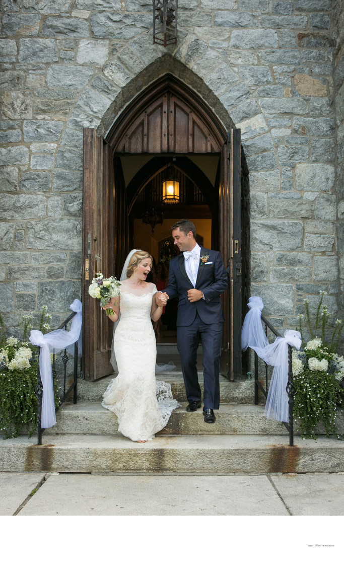 Garrison Wedding Ceremony | Intimate Church Wedding