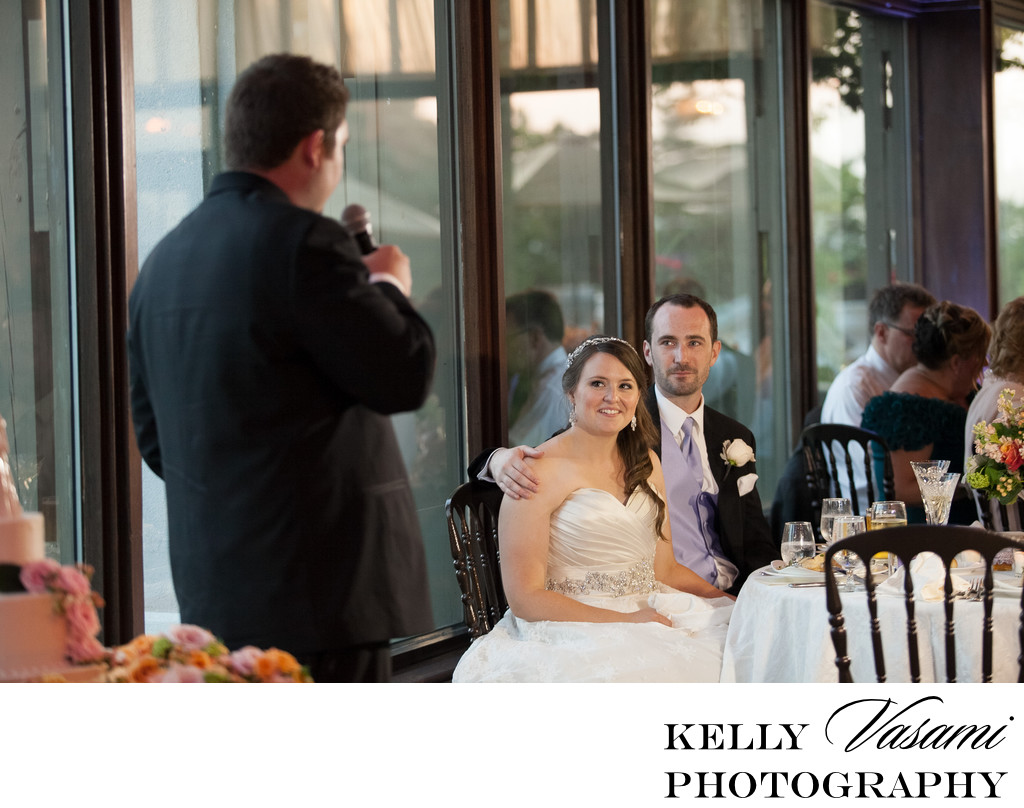 tarrytown house wedding reception photos