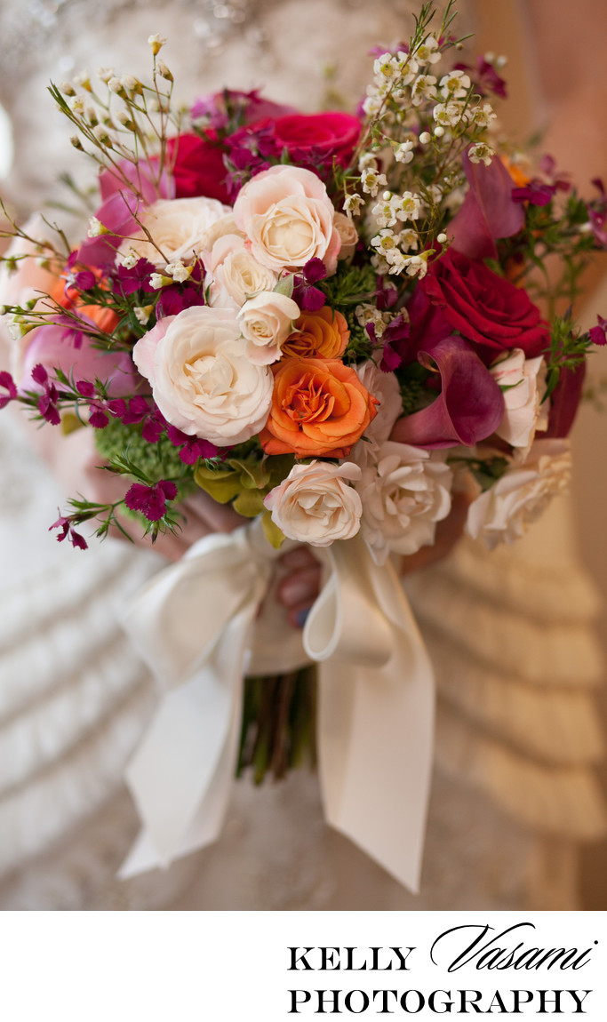 new york wedding florist roses calla lily wildflowers