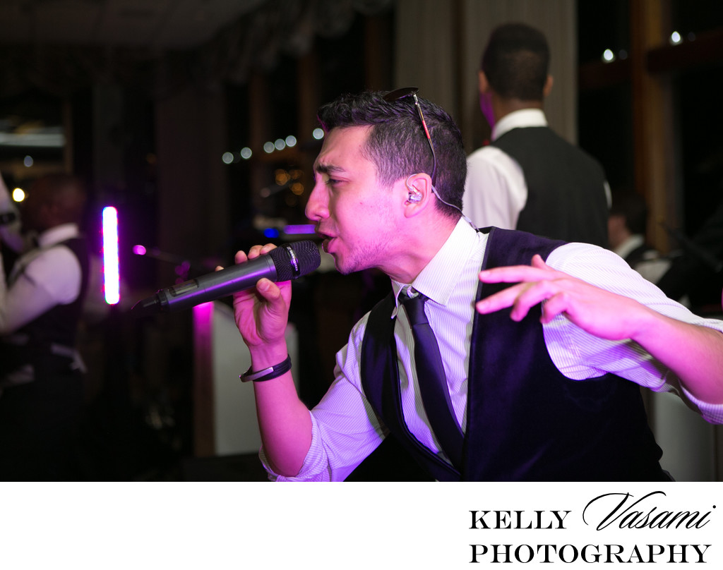 Wedding Band Singer | Westchester Wedding Reception