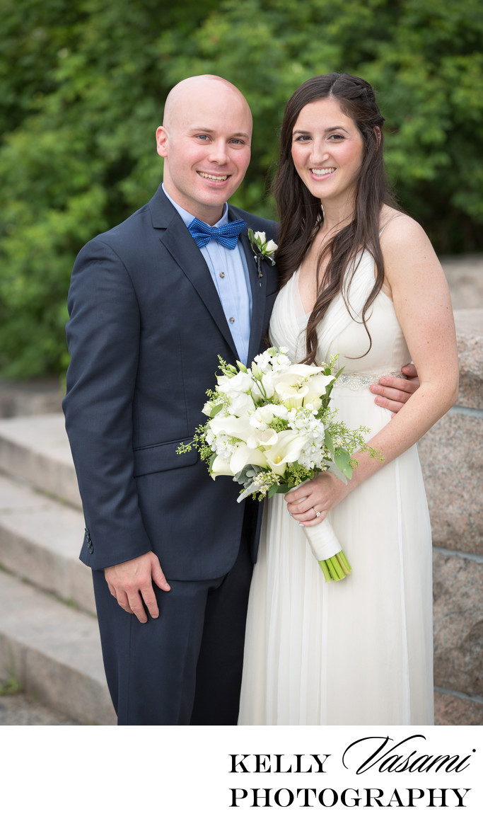 westchester outdoor wedding ceremony photos