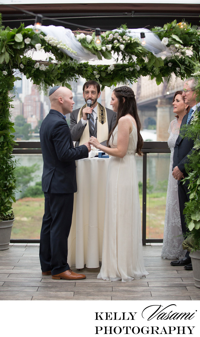 beautiful jewish wedding ceremony photos new york