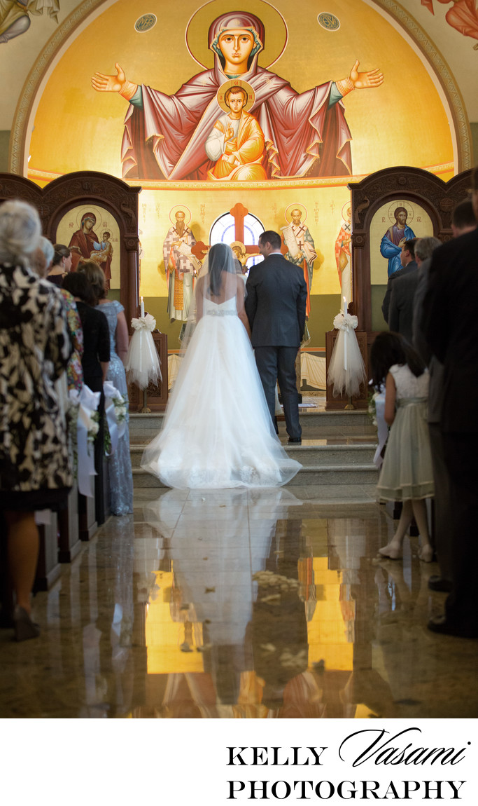 Traditional Greek Orthodox Wedding Ceremony Connecticut